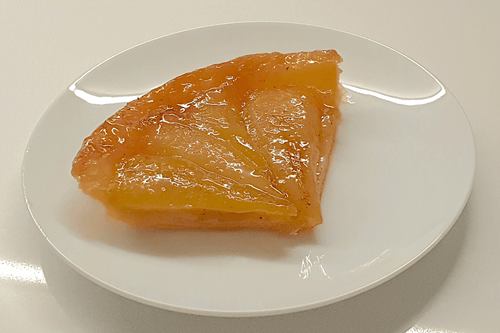 Pear & Star Anise Tarte Tatin (slice) - WineStuff.net - WineStuff.net - -
