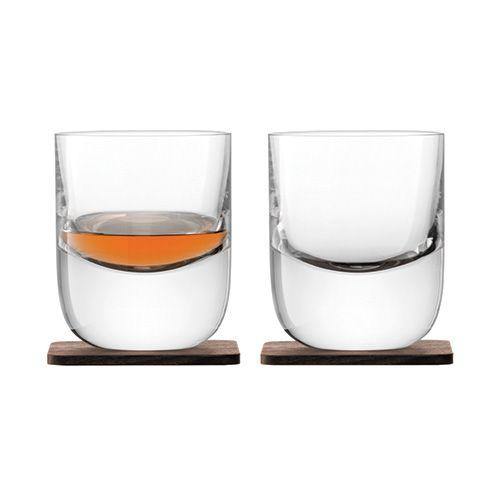 Renfrew Tumbers & Walnut Coaster 270ml Qty 2 - WineStuff.net - WineStuff.net - -