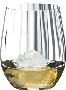 Riedel Optic 'O' Crystal Whiskey Tumbler 340ml Qty 2 - WineStuff.net - WineStuff.net - 0512/05