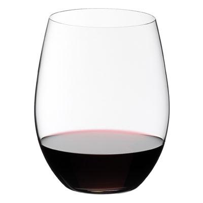Riedel The 'O' Cabernet Merlot Stemless Crystal Glass 600ml Qty 2 - WineStuff.net