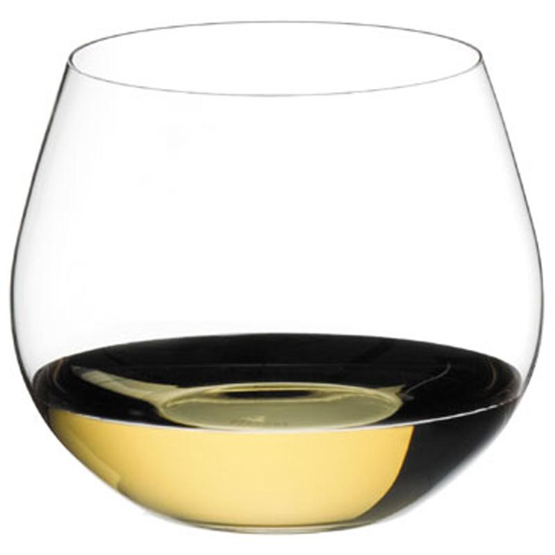 Riedel The 'O' Crystal Chardonnay Wine Tumbler Glass 20.75oz/615ml Qty 2 - WineStuff.net - WineStuff.net - 412/97