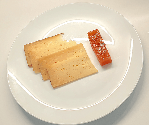 Spanish Manchego Cheese served with Membrillo - WineStuff.net - WineStuff.net - -