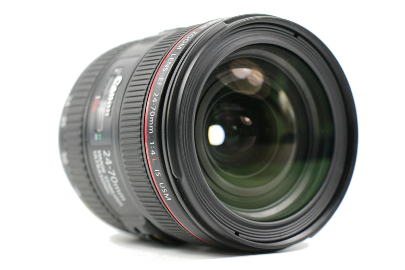 used Canon EF 24-70mm f/4 L IS USM - SO Cameras