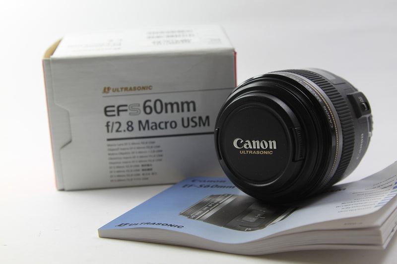 used Canon EF-S 60mm f/2.8 USM Macro - SO Cameras