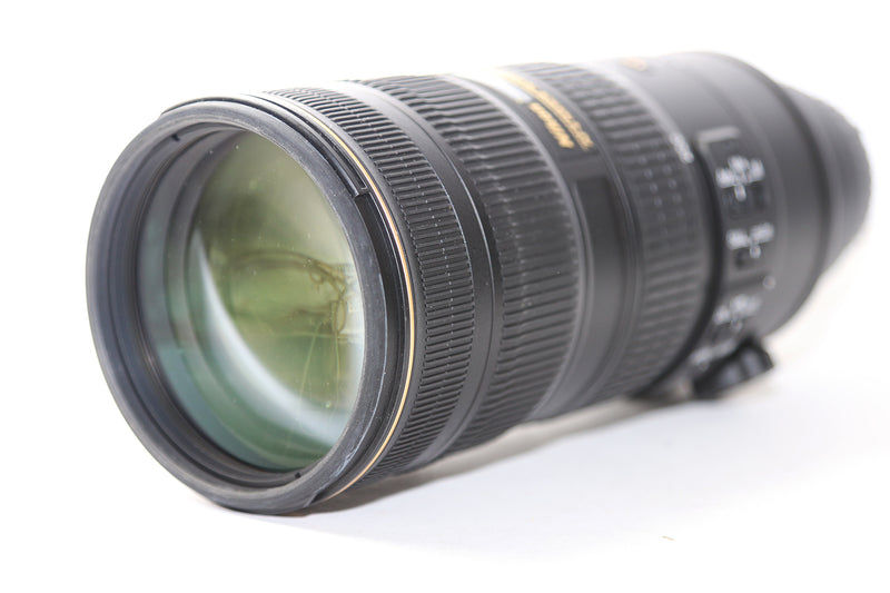 Used Nikon AF-S 70-200mm f/2.8G ED VR II Lens + 77mm Hoya Filter (4248540610663)