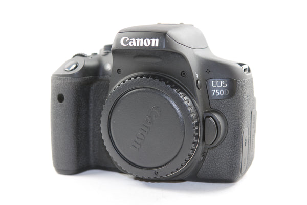 used Canon EOS 750D - SO Cameras