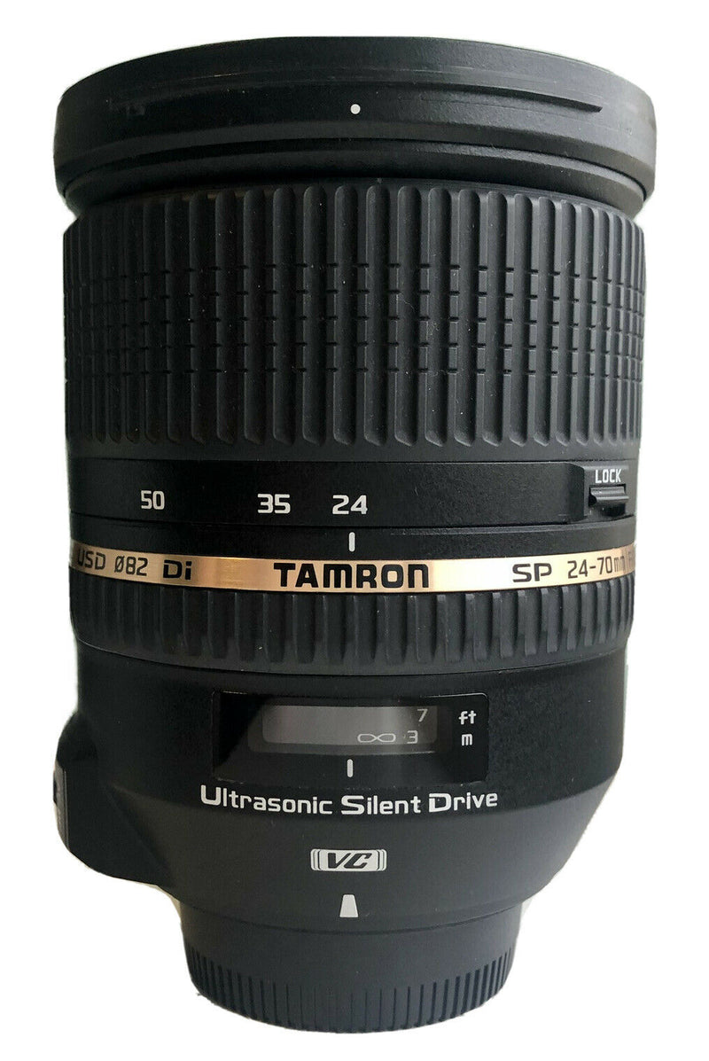 used Tamron SP 24-70mm f/2.8 Di VC USD, Nikon fit - SO Cameras