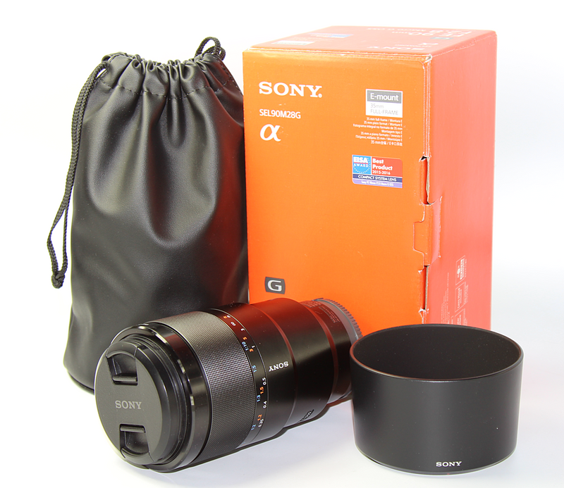 used Sony FE 90mm f/2.8 Macro G OSS - SO Cameras