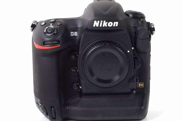 Nikon D5 Digital SLR Camera Body Double CF Version (Dual CF Slots)