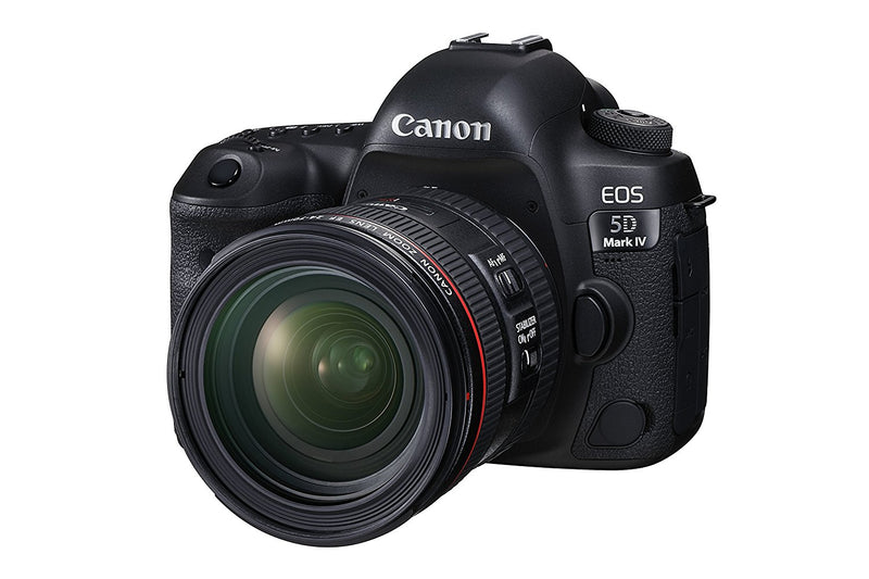 used Canon EOS 5D Mark IV DSLR Camera w/ EF 24-70mm f/4L IS USM Lens Kit - SO Cameras