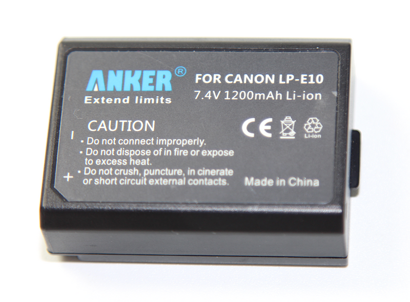 Anker Canon LP-E10 Battery Pack