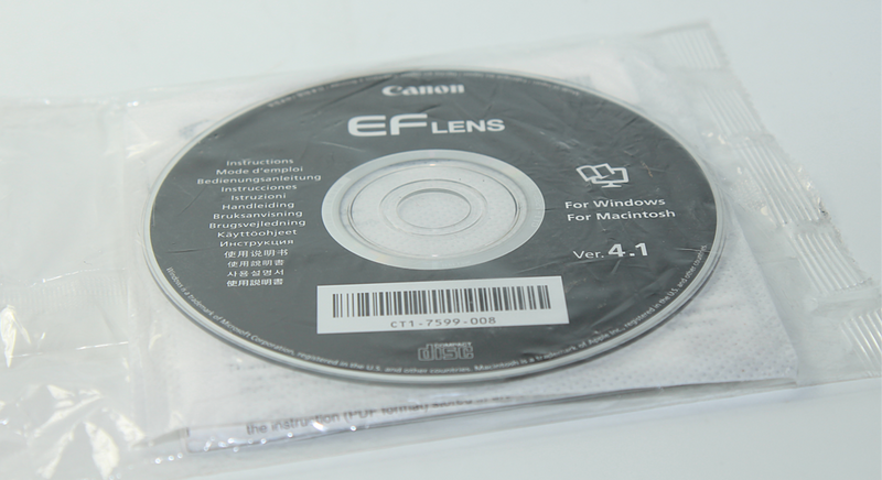 Canon EF Lens Instructions Disc 4.1