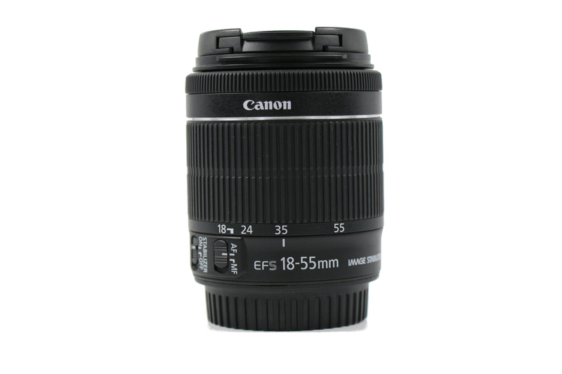 used Canon EF-S 18-55mm f/3.5-5.6 IS STM - SO Cameras