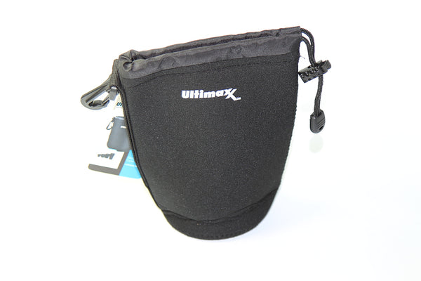 Ultimaxx Neoprene Soft Lens Pouch New