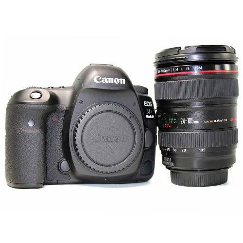 Canon EOS 5D Mark IV and Canon EF 24-105mm f/4L IS USM Lens (4248504008807)