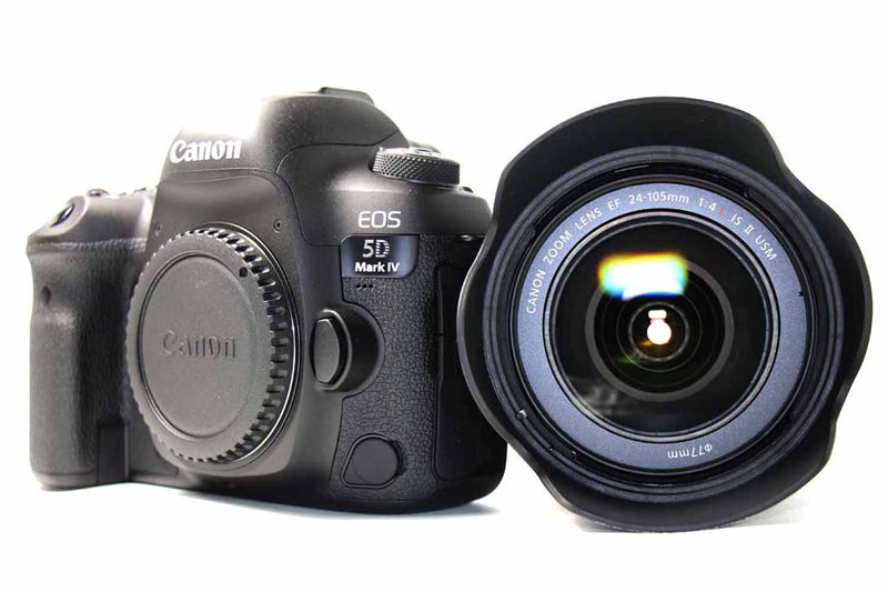 used Used Canon EOS 5D Mark IV and Canon EF 24-105mm f/4 L II Lens - SO Cameras