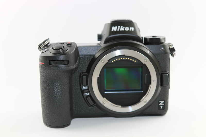 Used Nikon Z 7 Mirrorless Digital Camera with 24-70mm Lens and FTZ Adapter Kit