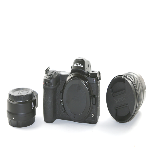 Used Nikon Z 7 Mirrorless Digital Camera with 24-70mm Lens and FTZ Adapter Kit (4248543101031)