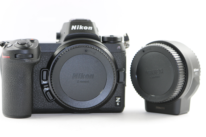 Nikon Z6 Mirrorless Digital Camera with  FTZ Mount Adapter