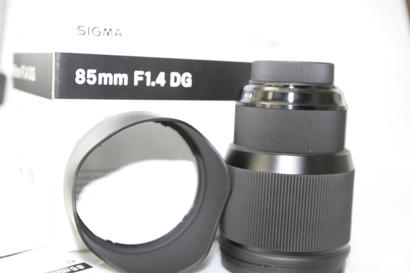 used Sigma 85mm f/1.4 DG HSM ART, Canon EF Fit - SO Cameras