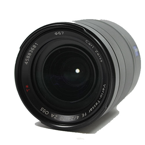 used Sony Carl Zeiss Vario-Tessar T* FE 24-70mm f/4 ZA OSS - SO Cameras