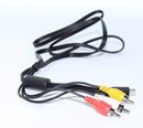 Canon Camera to AV TV Output Cable
