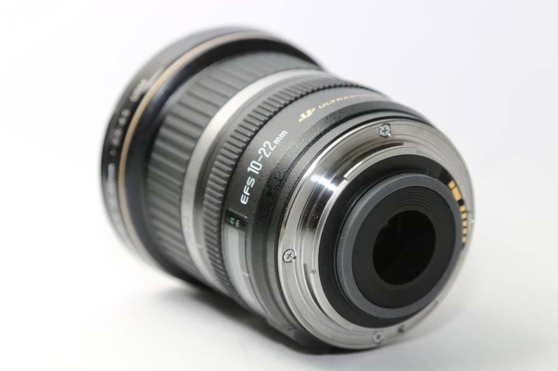 used Canon EF-S 10-22mm f/3.5-4.5 USM - SO Cameras