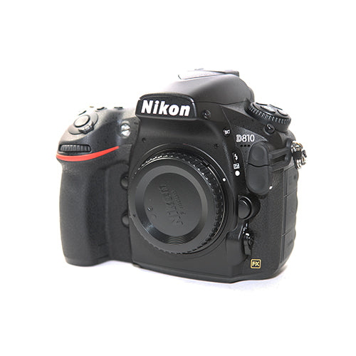 Used Nikon D810 DSLR Camera with 24-120mm Lens