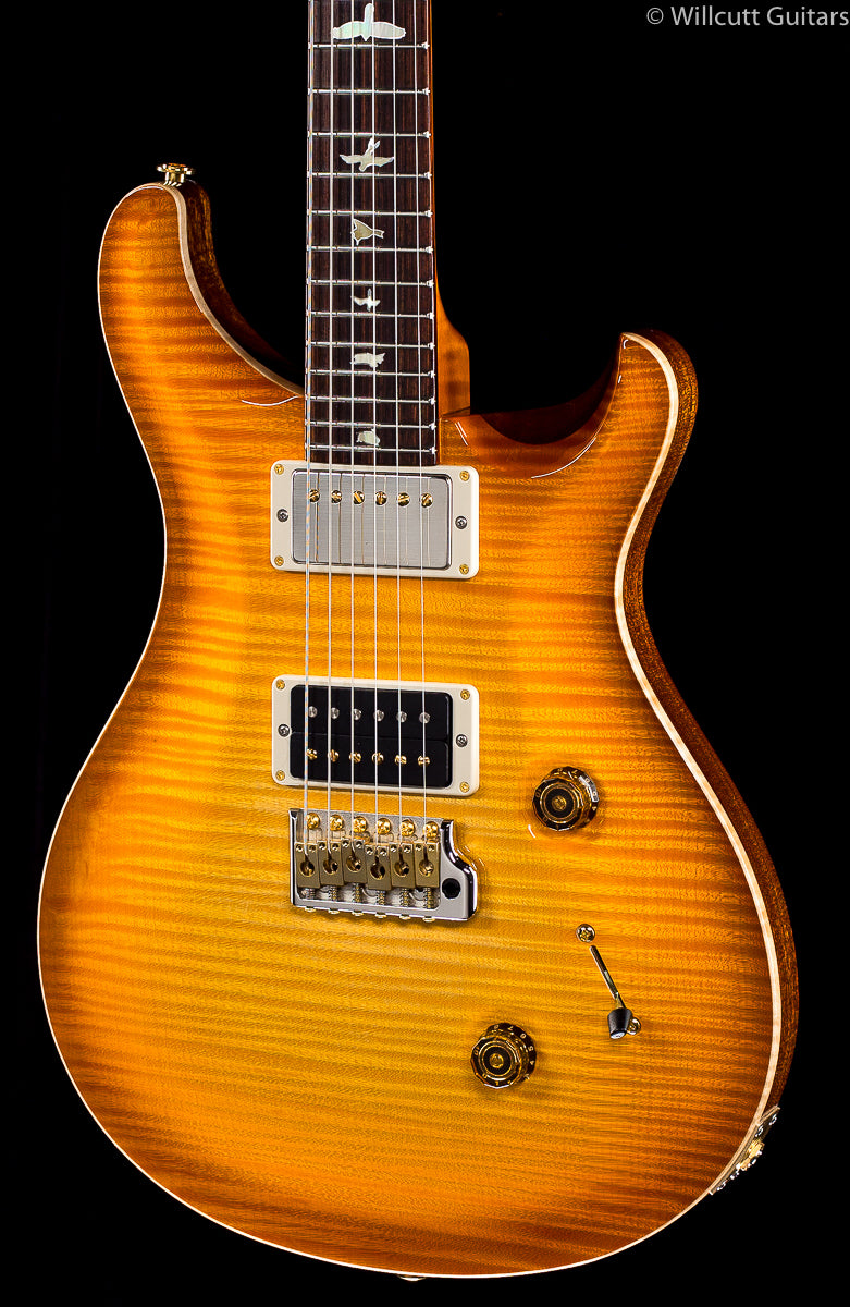 PRS Private Stock 7907 Custom 24 Citrine Glow One-Piece Top