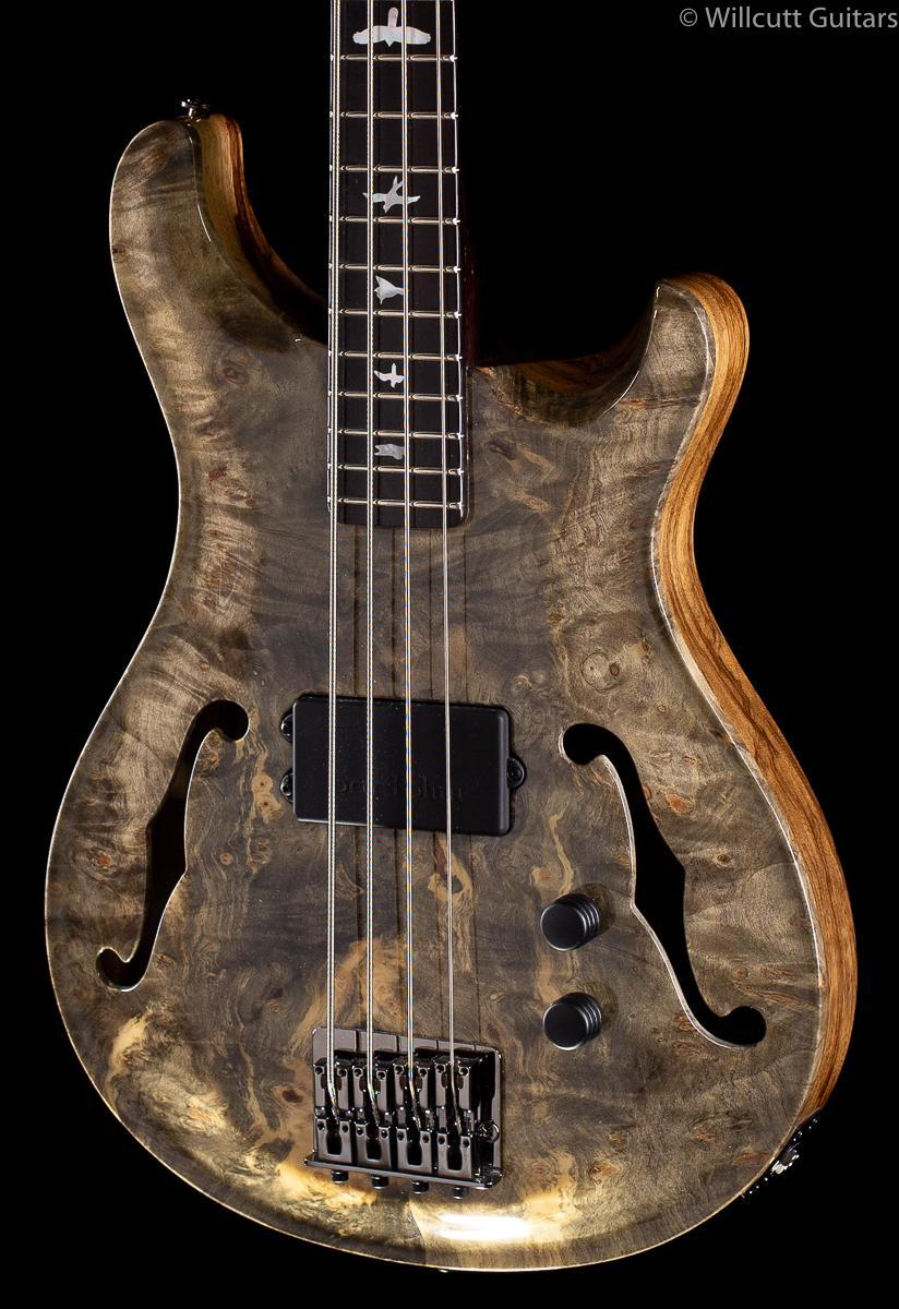 PRS Private Stock 8124 SS Bass Hollowbody Buckeye Burl