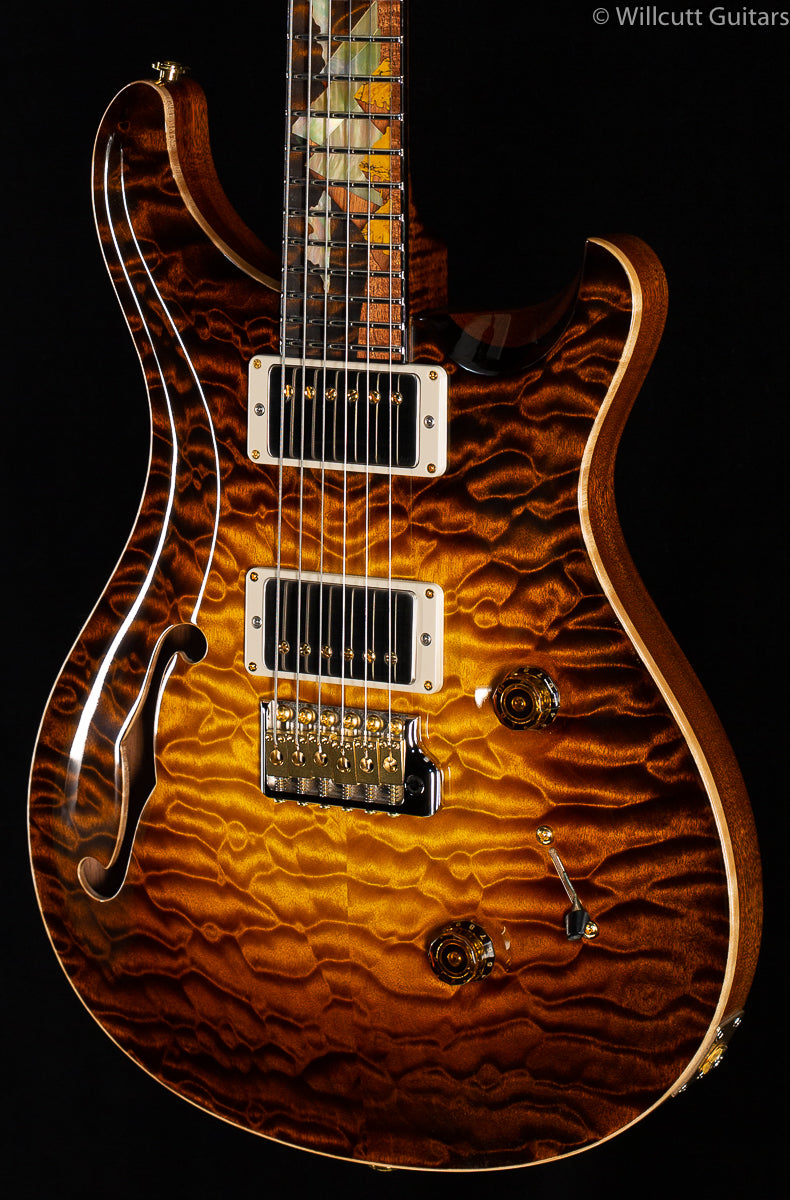 PRS Private Stock 8177 Custom 24 Sandstorm Glow Pyramid Scene Inlay