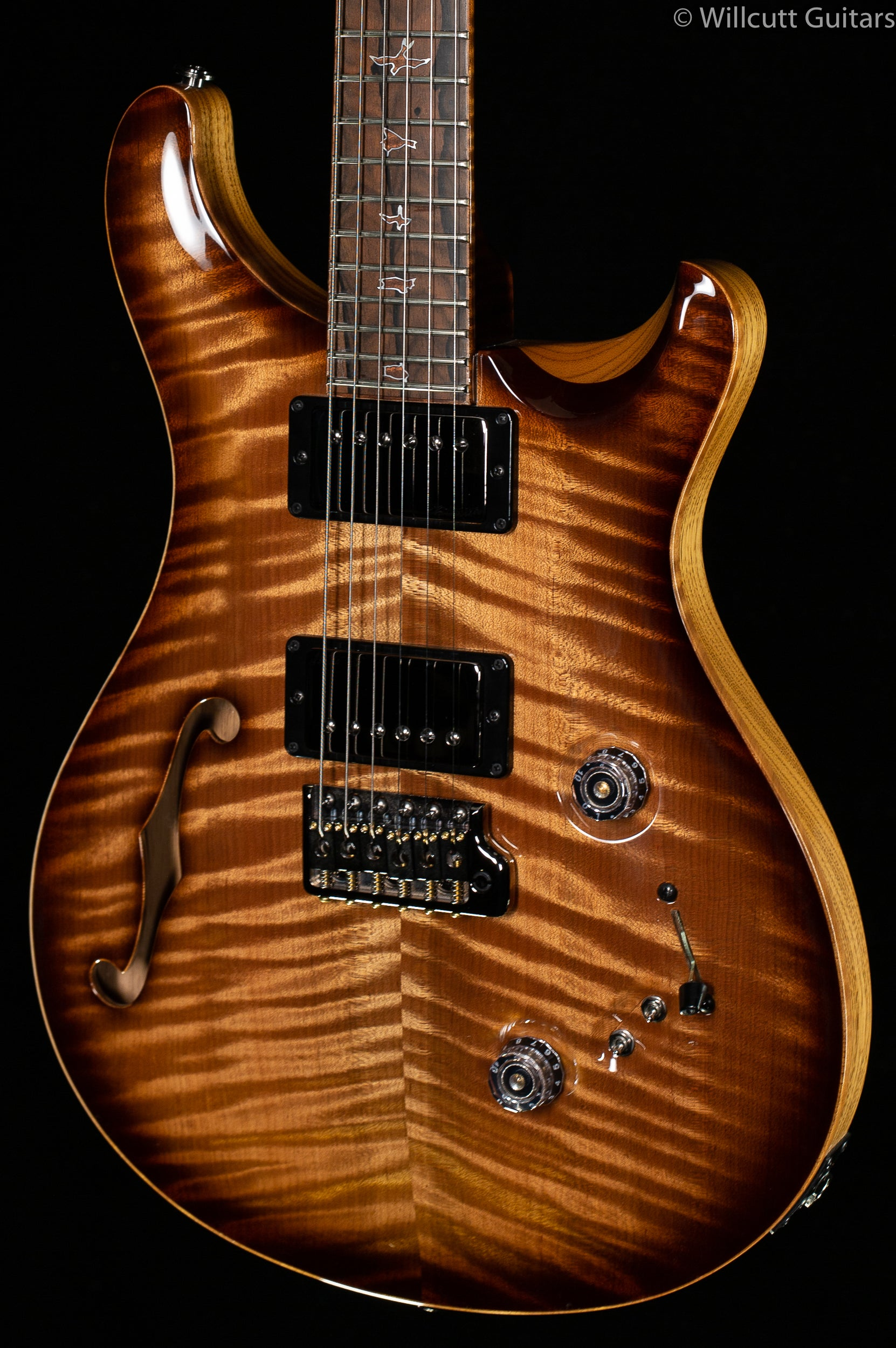 PRS Private Stock 8973 Custom 24-08 Natural Smoked Burst