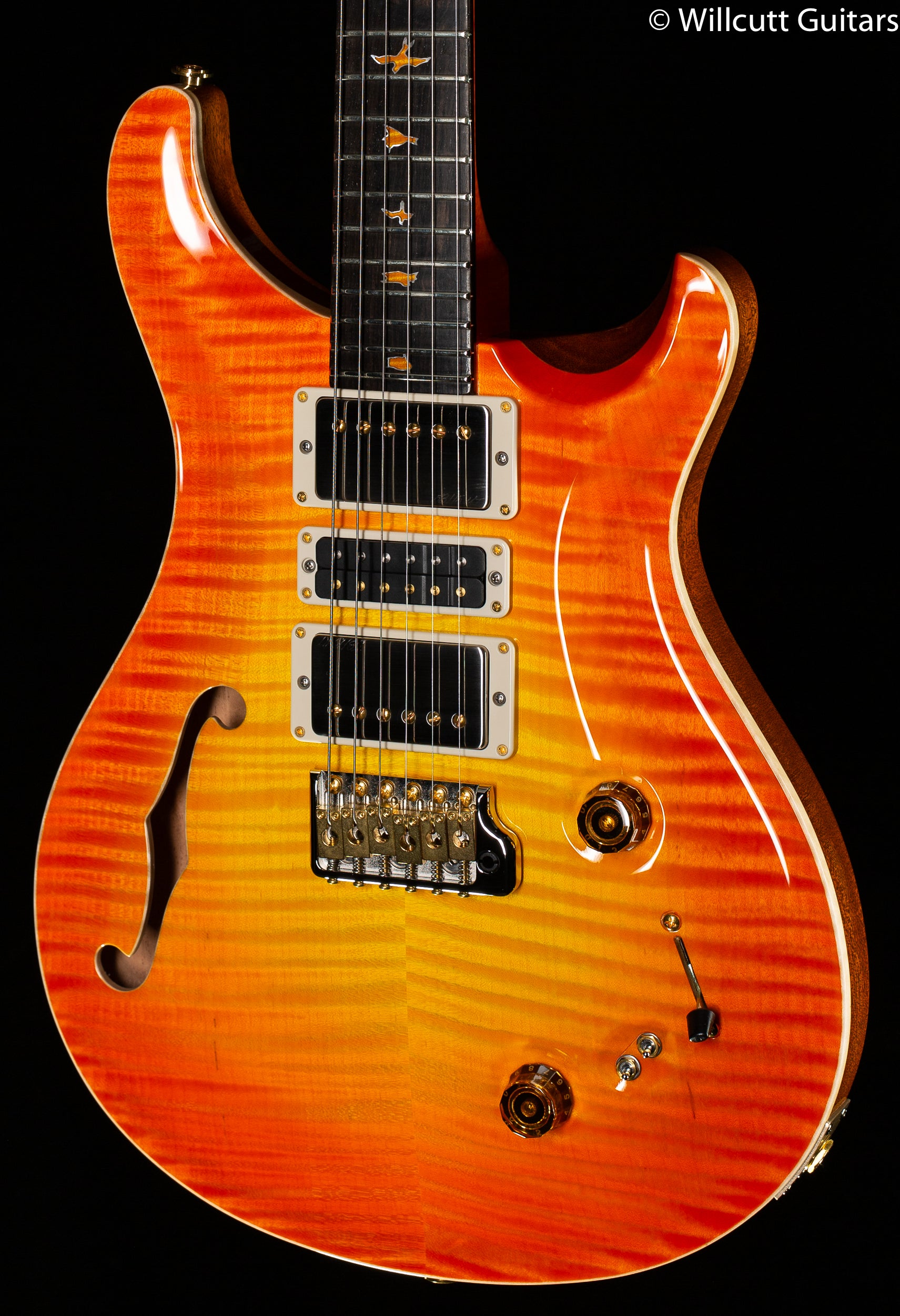 PRS Private Stock 8962 Special Semi Hollow 24 Citrus Glow