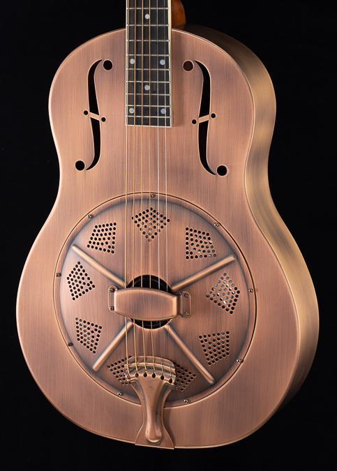 Republic Resolian Style #805 12 Fret Antique Copper (088)
