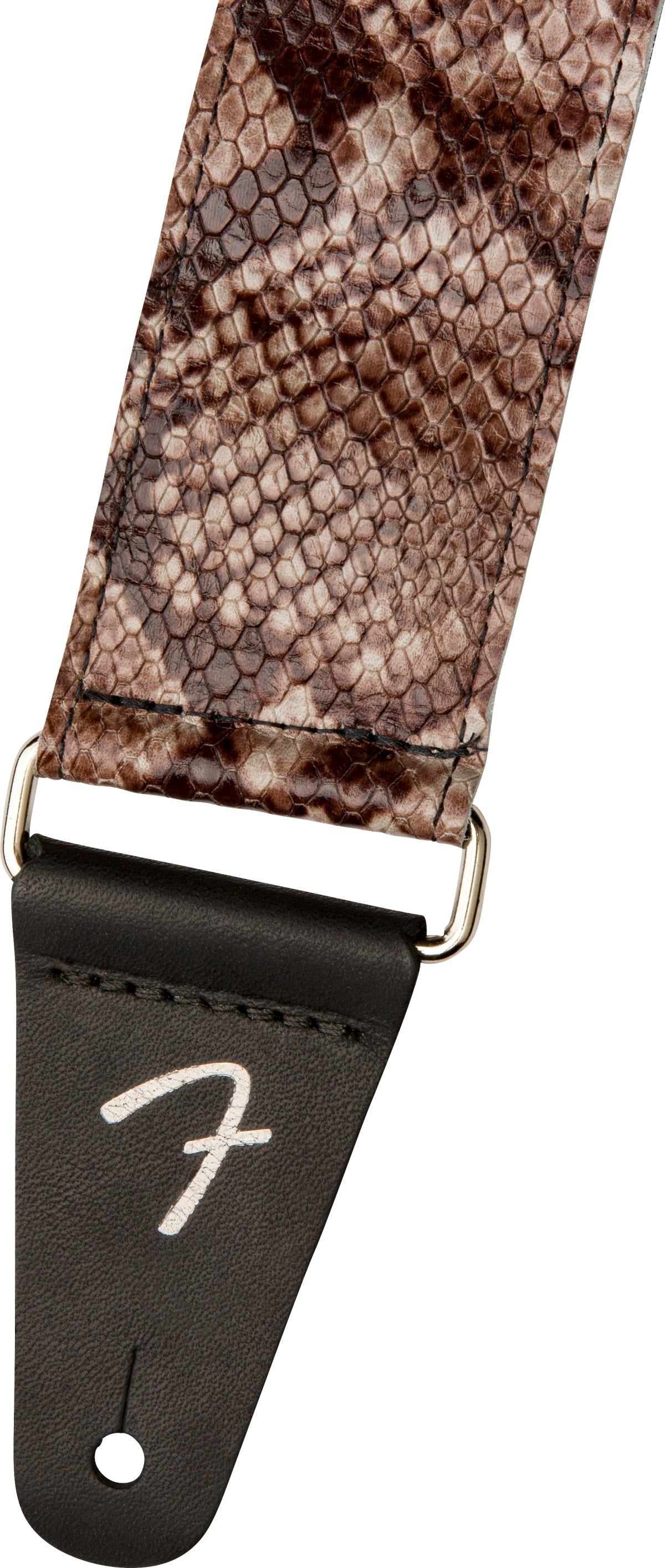 FENDER WILD FAUX SNAKESKIN LEATHER STRAP