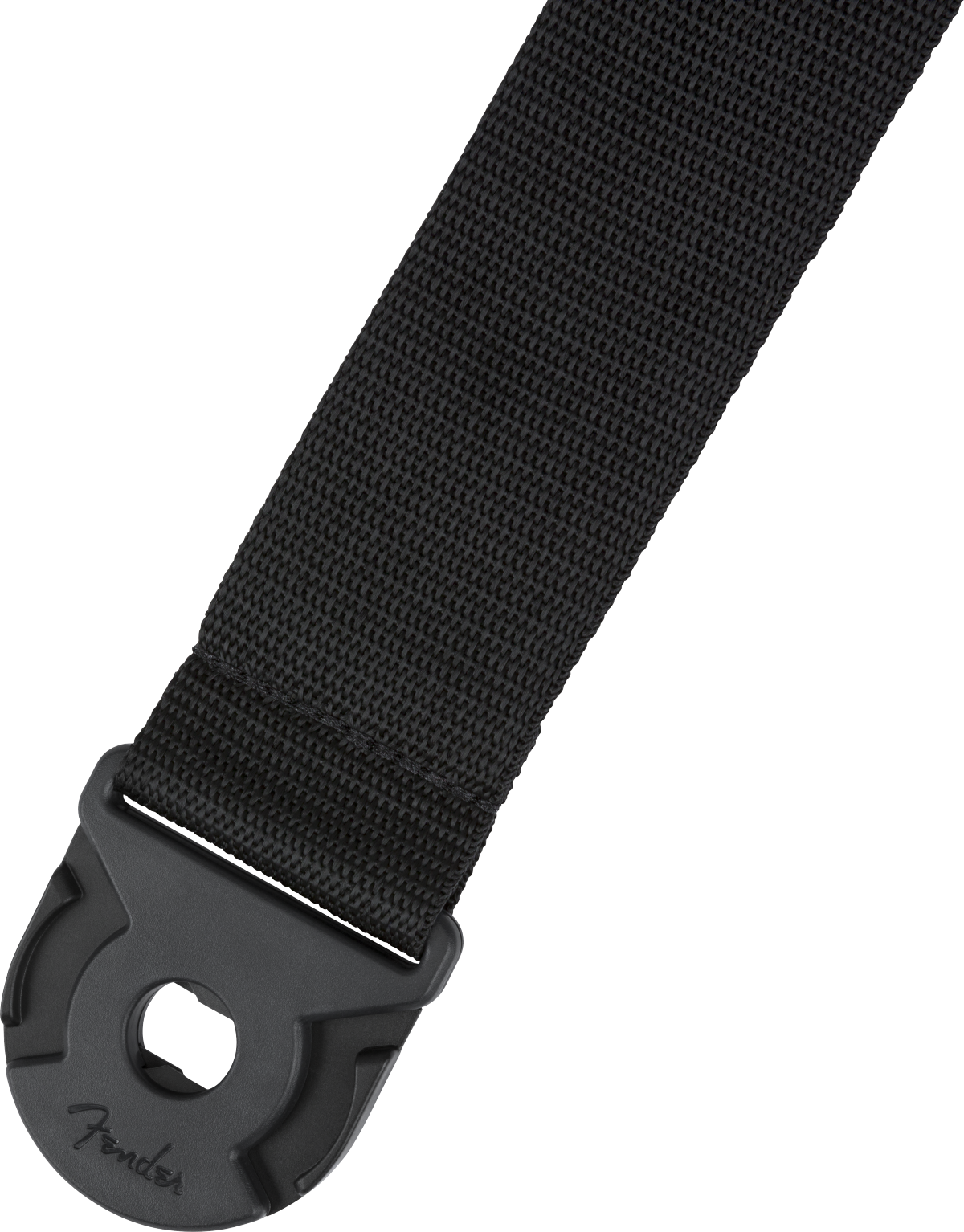 Fender Quick Grip Locking End Strap, Black Polypro, 2""