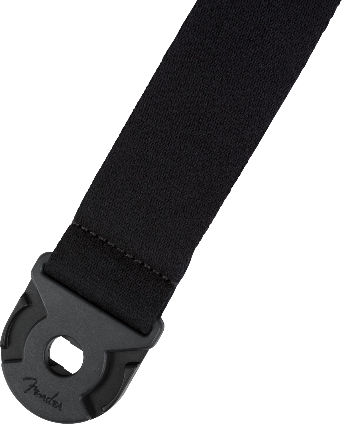 Fender Quick Grip Locking End Supersoft Strap, Black, 2""
