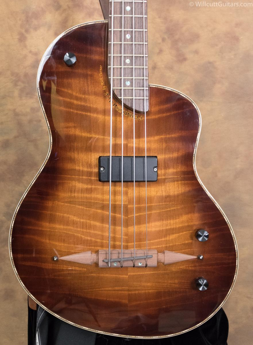 Rick Turner Renaissance RB-4 Bass Deuce Redwood USED (568)