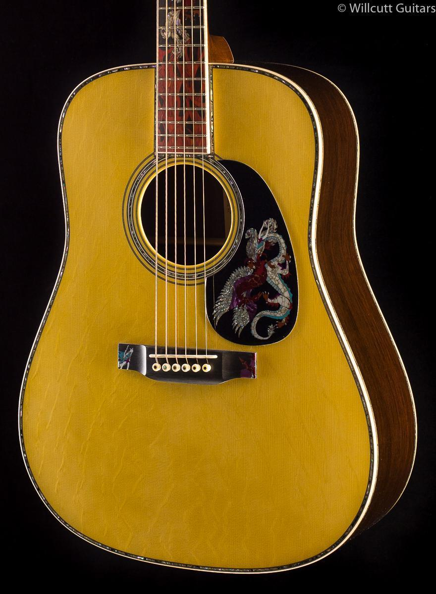 Martin D-45 Fire and Ice