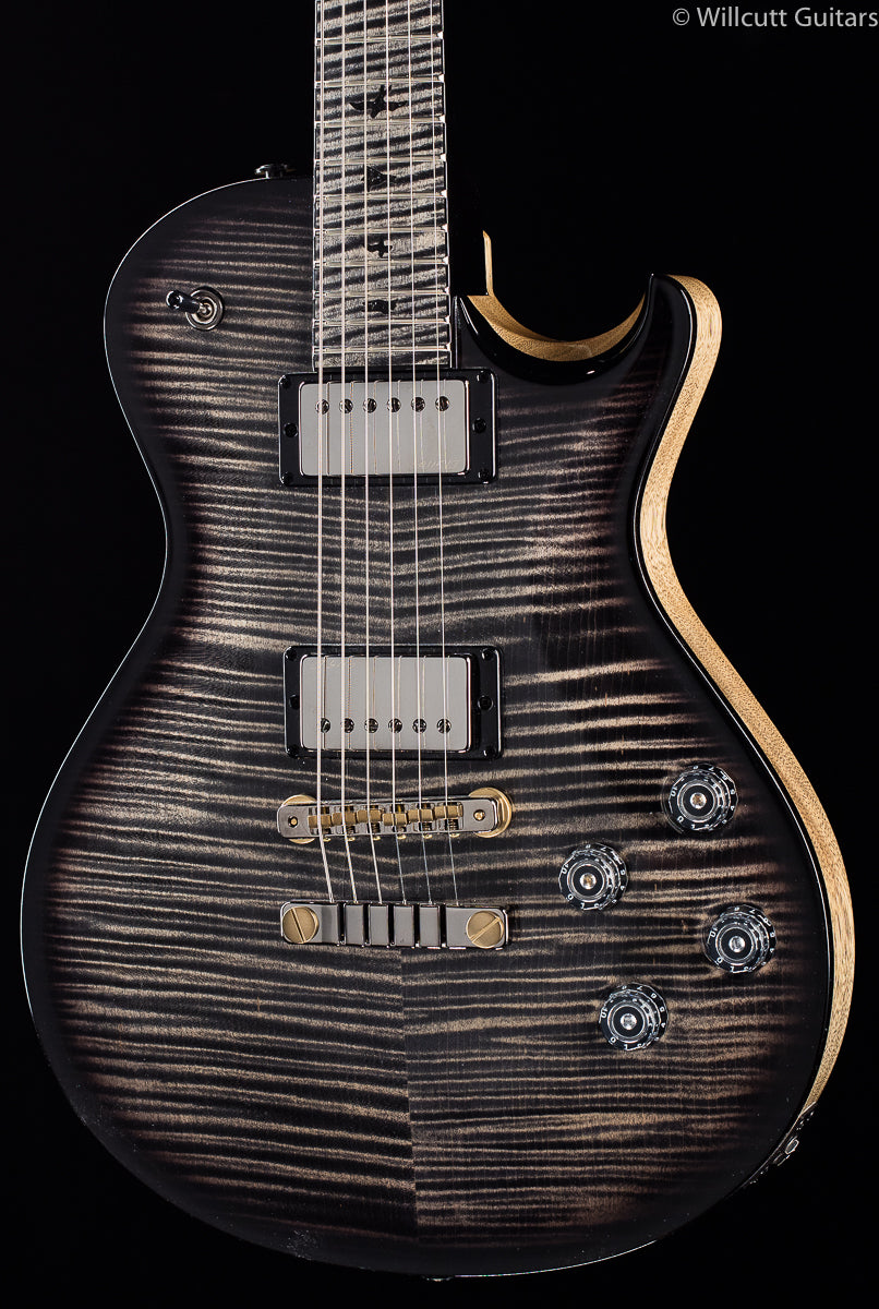 PRS Private Stock 8093 Singlecut McCarty 594 Charcoal Smoked Burst