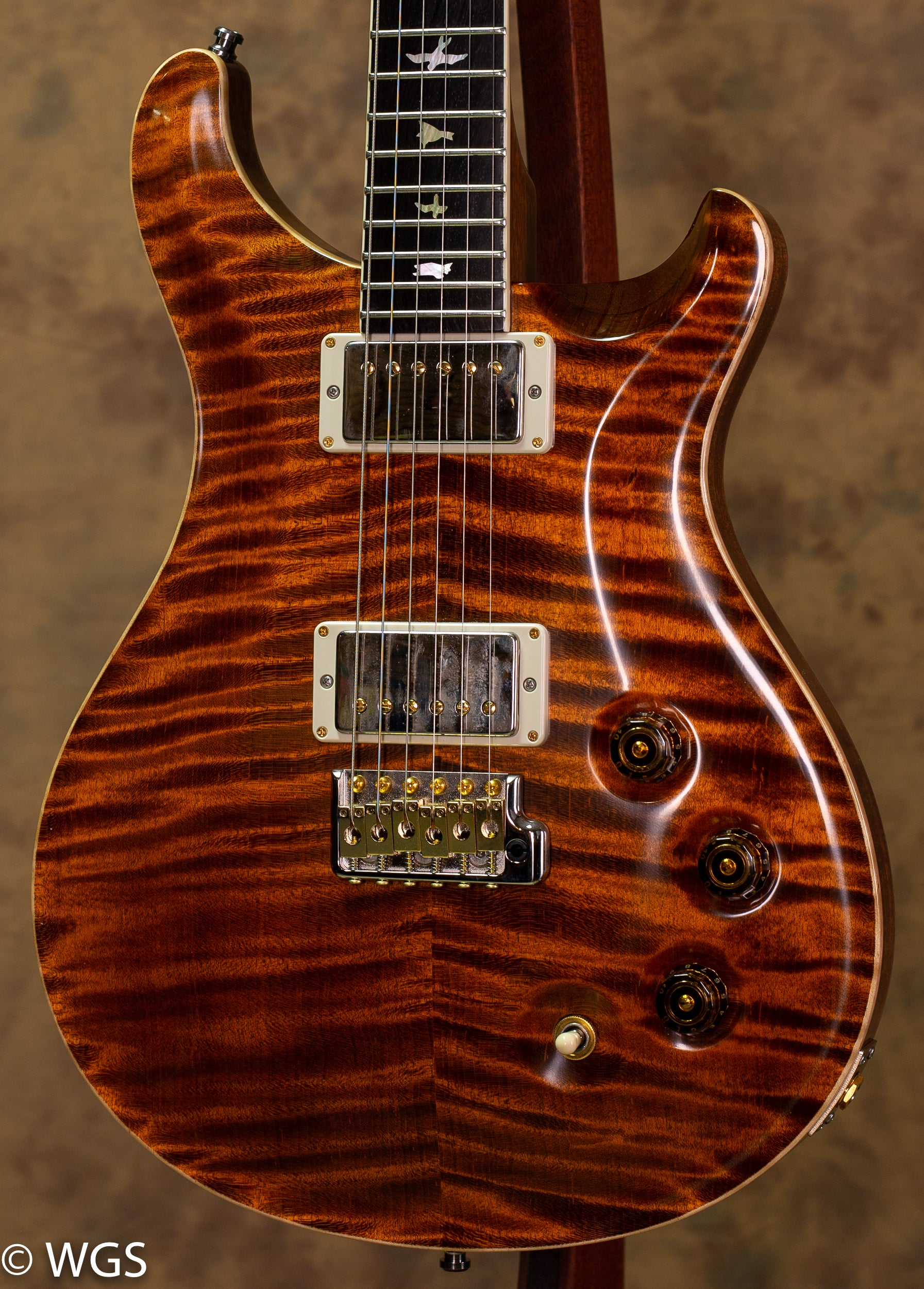 PRS USED DGT Brazilian FB Private Stock Top 58/15LT Neck PU