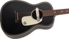 Gretsch G9520E Gin Rickey Acoustic/Electric with Soundhole Pickup, Walnut Fingerboard, Smokestack Black