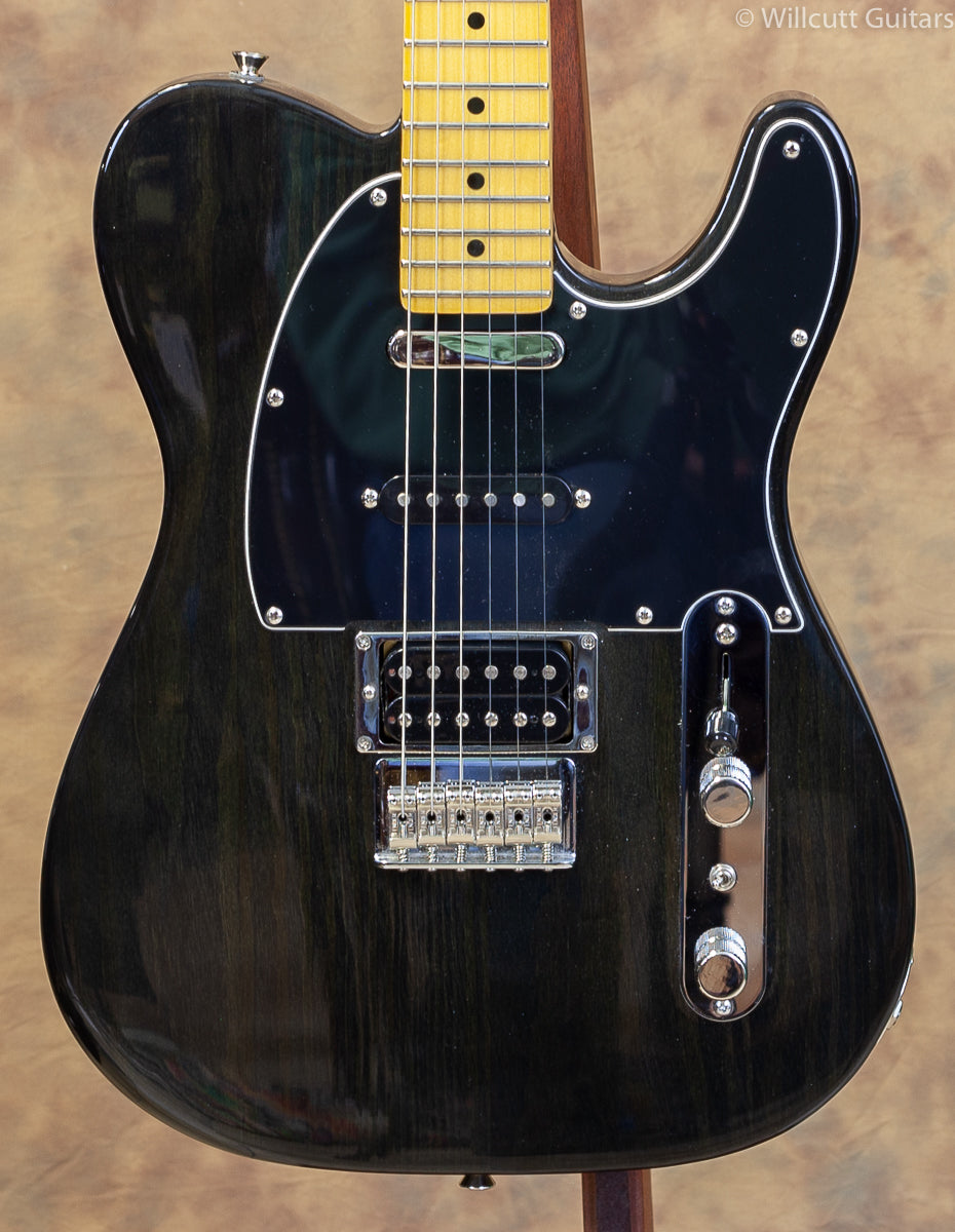 Fender Modern Player Telecaster Plus Charcoal Transparent USED (012)