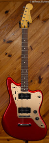 Squier Deluxe Jazzmaster Candy Apple Red
