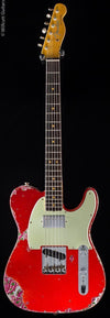 Fender Custom Shop Ltd '60s HS Tele Heavy Relic Candy Apple Red over Pink Paisley (705)