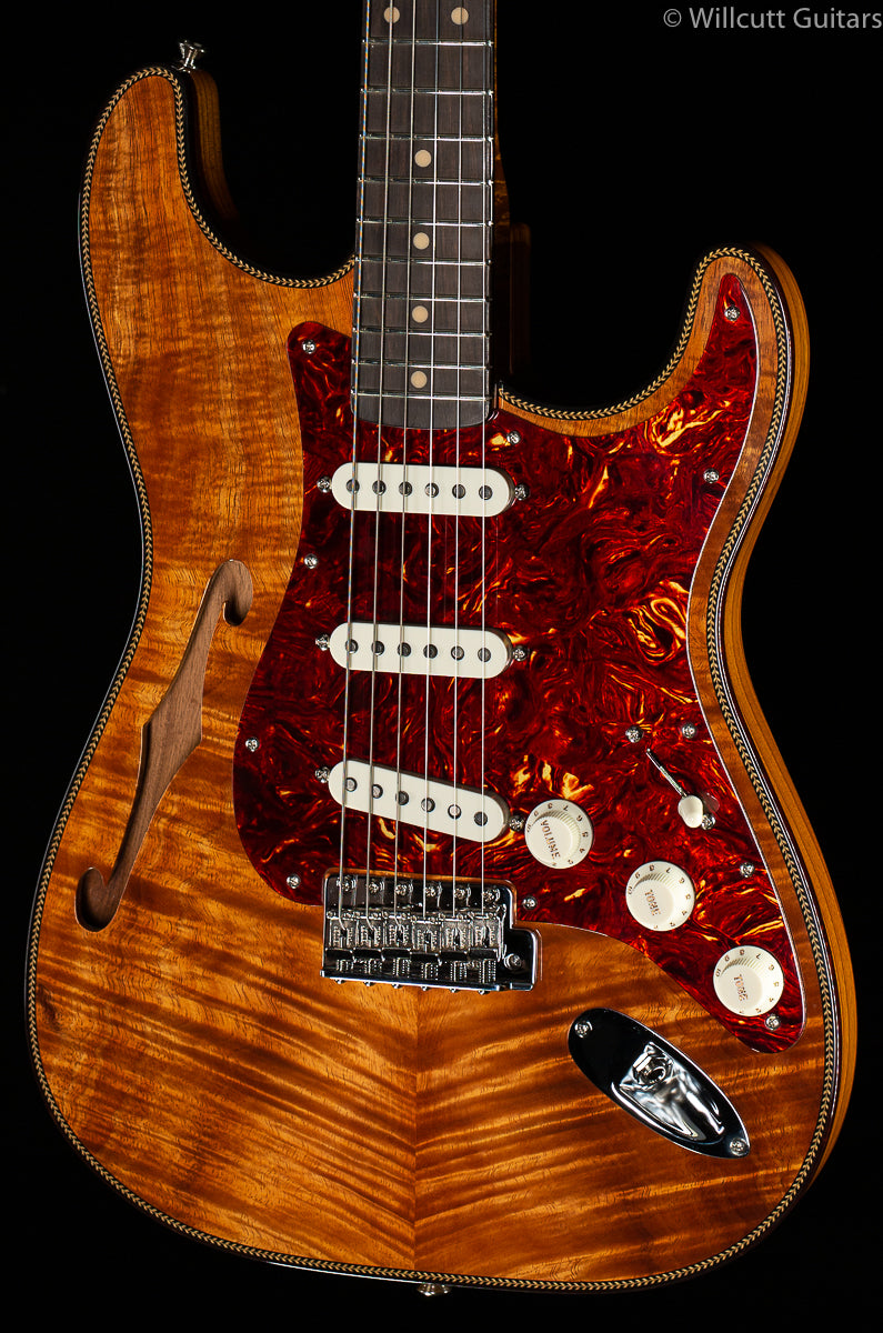 Fender Custom Shop LTD Artisan Koa Thinline Stratocaster