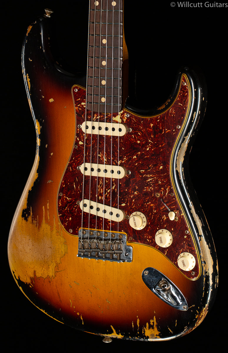 Fender Custom Shop LTD '62 Stratocaster Super Heavy Relic Faded Aged 3-Tone Sunburst