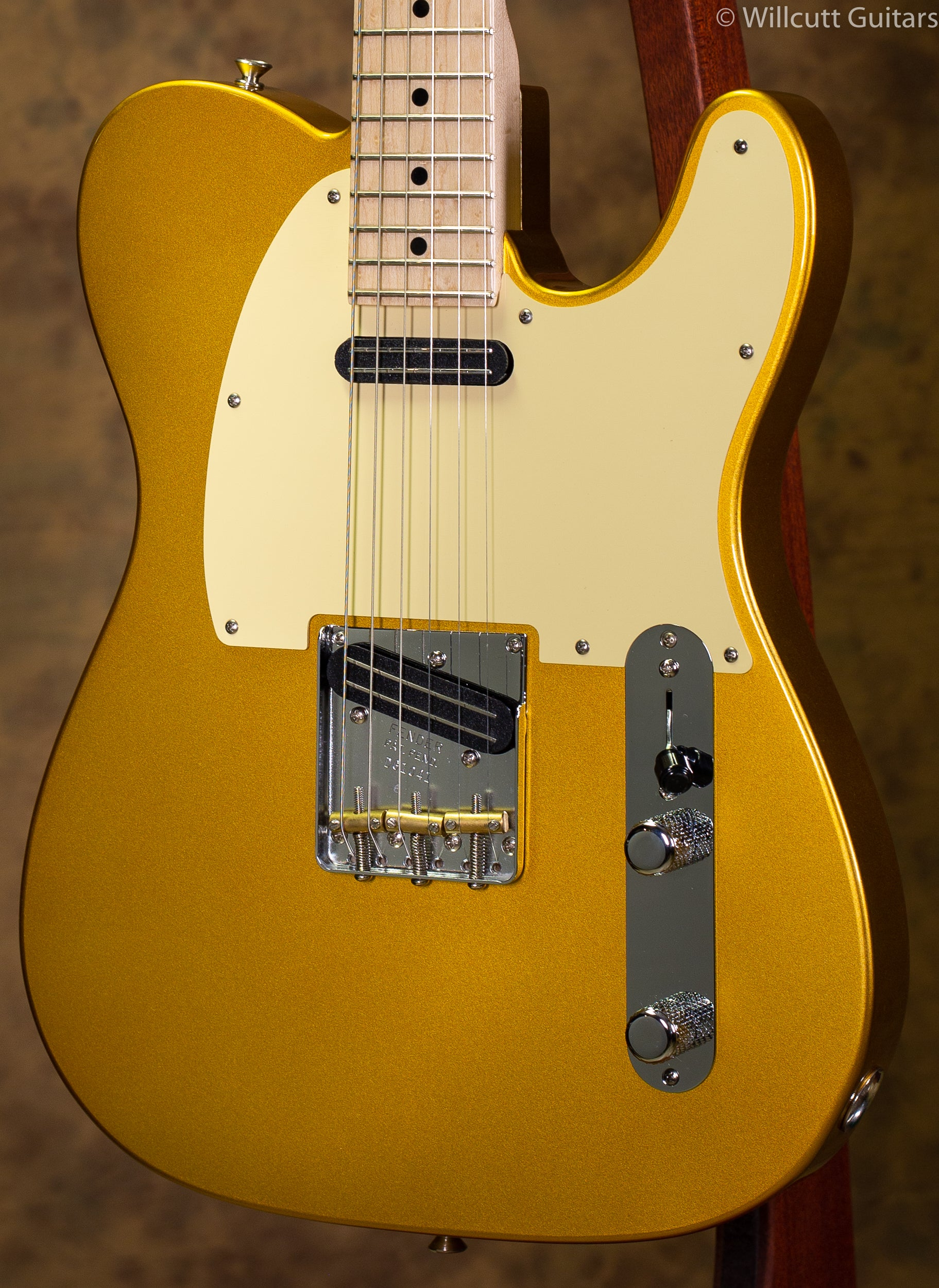 Fender USED Custom Shop Danny Gatton Telecaster Frost Gold (041)