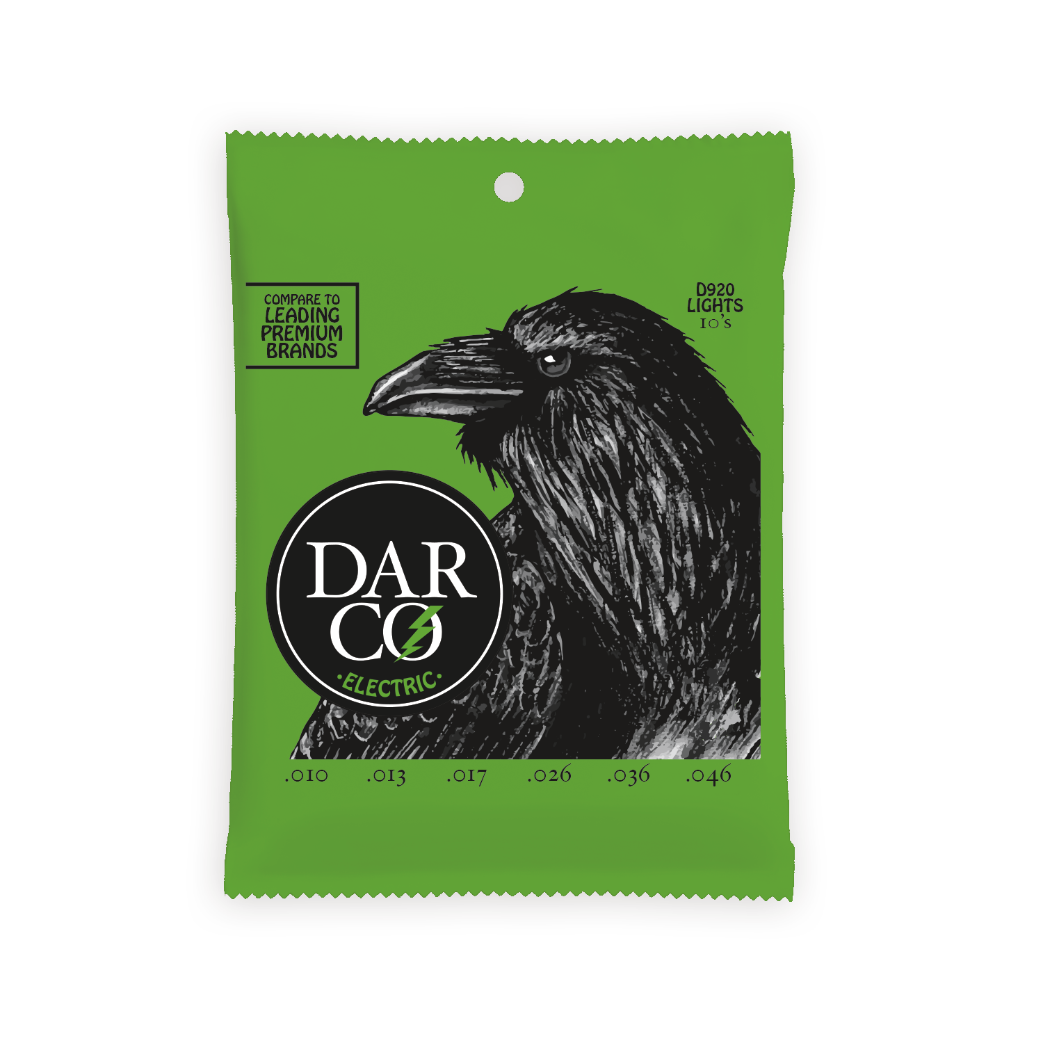 Darco Electric Guitar Strings .010-.046 Light