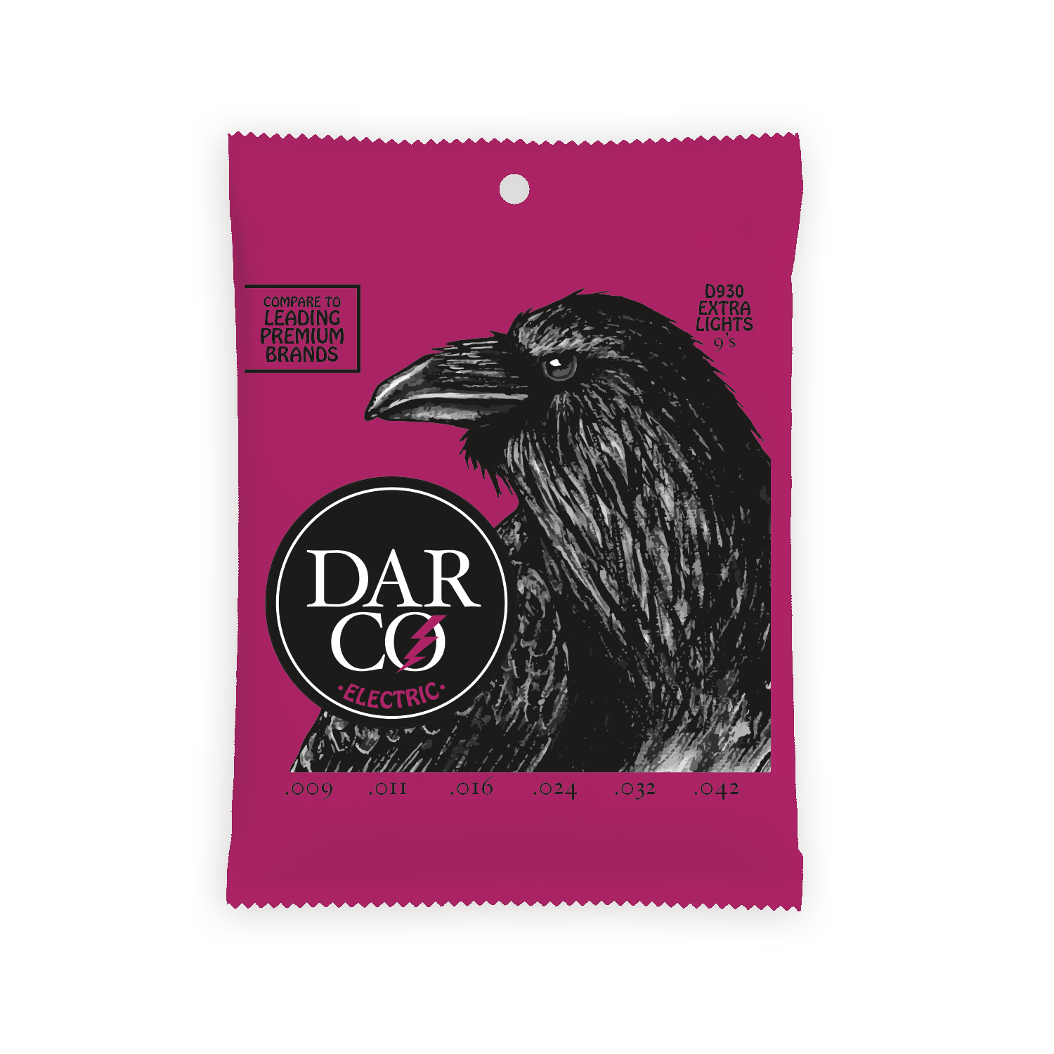 Darco Electric Guitar Strings .009-.042 Extra Light